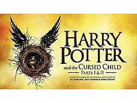 4x Harry Potter & The Cursed Child London Part 1&2