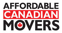 Affordable Canadian Movers starting $55/HR Short Notice 24/7
