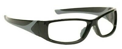 Radiation Safety Glasses Leaded Eyewear in Stylish Unisex Black Plastic Wrap for sale  Shipping to India
