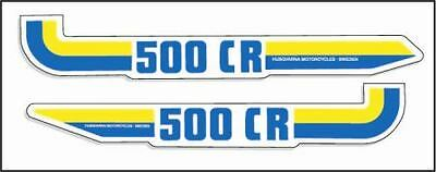 1983 Husqvarna 500 CR Side Panel Decals