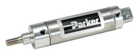 "Parker 1.06Dpsr06.00 1-1/16"" Bore Round Double Acting Air Cylinder 6"" Stroke"