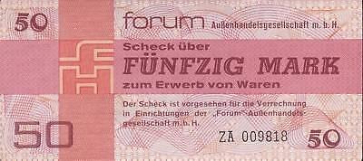 Ro.371b DDR 50 Mark 1979 Forum Ersatznote