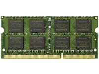 Kingston Technology 8GB 1600MHz DDR3L (PC3-12800) 1.35V Non-ECC CL11 SODIMM Intel Laptop Memory KVR1