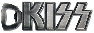 Kiss-Classic-Logo-Polished-Cast-Metal-Bottle-Opener-New-Official-In-Pack