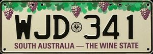 LIMITED EDITION SA NUMBER PLATE Adelaide CBD Adelaide City Preview