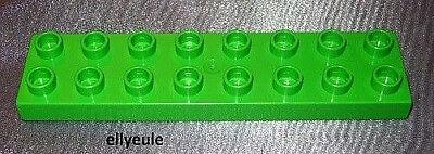 Lego Duplo 1x Steine 16er Baustein h-grün flach Platte halbhohe aus 10806 9217