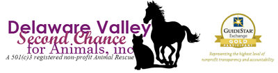Delaware Valley Second Chance for Animals (DVSC)