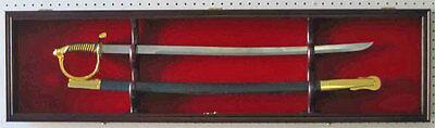 1 Sword Display Case Cabinet Stand Holder ...