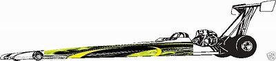 SHOCK Race Car Jr Dragster Side Graphics set Decal Decals Sticker NHRA IHRA