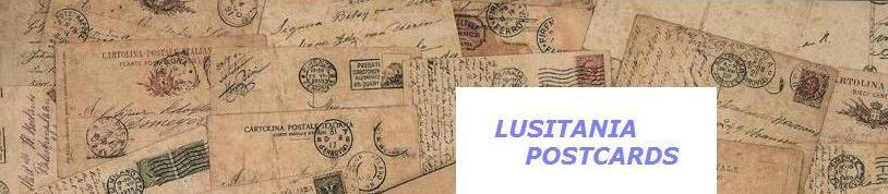 LUSITANIA POSTCARDS