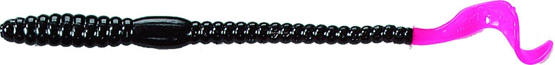"Mister Twister 6P20-46 Phenom Worm 6/"" 20//Pack Purple//Firetail"