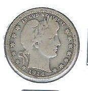 1914 Quarter