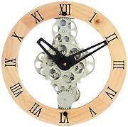 Wood Gear Clock