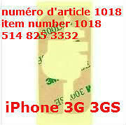 3M Touch Digitizer Screen Adhesive Sticker Fit For iPhone 3G 3GS