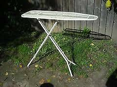 Excellent Condition Metal Adjustable Ironing board