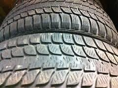 245/70R17Bridgestone Blizzak DMV1 Set of 2 Used winter tires 80%tread left Free Installation and Balance
