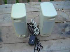 Excellent Condition: Pair Of Amplified Speakers
