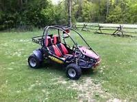 carbide 150 dune buggy and trailer