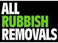 LOAD OF RUBBISH HOUSE GARAGE GARDEN WASTE CHEAP REMOVAL CLEARANCE DEMOLITION MAN AND VAN''