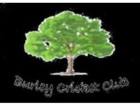 Burley Cricket Club Looking For Players