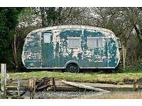 old caravan wanted