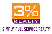 Stop Paying High Commissions-3 Percent Realty Advantage! Wpg