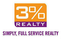 Free Market Evalutaion!! Full Service at Only 3%!!