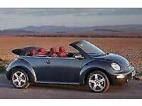 2005 Volkswagen Beetle 1.6 DARK FLINT 2d 101 BHP Convertible Petrol Manual