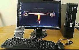 Dell Vostro 230 Desktop Pc Computer Dell 20 Lcd Webcam