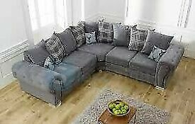 🔵💖🔴EXCELLENT QUALITY🔵💖🔴verona 3 and 2 seater sofa set in grey color-cash on delivery