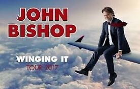 John Bishop. Cardiff Motorpoint. Excellent seats. Tickets in hand
