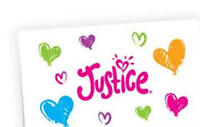 $500 justice kids clothing GIFT CARD