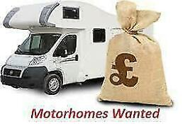 MOTORHOMES WANTED! WHY WASTE TIME USING A BROKER? HASSLE FREE EXPERIENCE