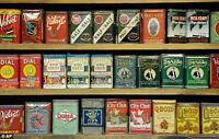 ADVANCE COLLECTOR PAYING CASH FOR YOUR OLD TOBACCO TINS