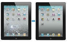 ** iPad mini 2 3 4 air 5 cracked screen glass LCD repair FAST **