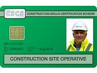 FREE (Funded by SDS ITA) Health & Safety Course - CSCS Green Operative Card