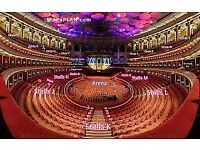 Jools Holland and his Rhythm and Blues Orchestra x 2 Front Row Stalls Tickets Royal Albert Hall