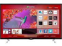 "42"" Hitachi smart tv £200 ONO Guaranteed ,NEED QUICK SALE."