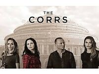The Corrs at The Royal Albert Hall.. 2 Tickets Row 8 (face value) £170