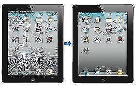 ** iPad mini 2 3 4 air 5 cracked screen glass LCD repair FAST **