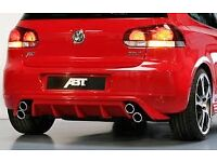 VW GOLF MARK 6 ABT STYLE CONVERSION KIT , Body kit , BODYKIT, TSI , TFSI , GTI