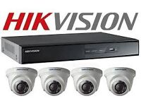 Hikvision CCTV security camera system installation service CALL 07796965454