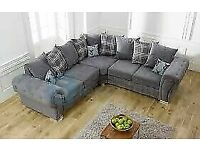 🔴MAKE THE COMFORT DEAL🔵verona 3 and 2 seater sofa set in grey color-cash on delivery