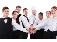 Waiting Staff, Bar Staff, Restaurant Staff wanted
