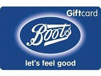 Boots Gift card (£200)