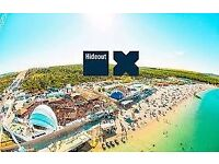 VIP Hideout Festival Ticket! 25th-29th June
