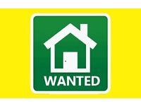 Studio flat or 1 bed wanted for young hospital worker asap..