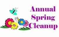 Do You Need Help with Spring Cleaning ?