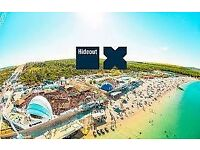 2x Hideout 2018 tickets