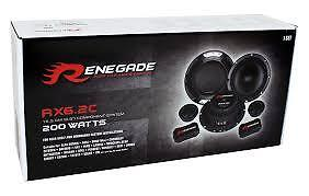 """Renegade RX6.2C - 16,5 cm (6.5"""") Component System - 200W Max"""